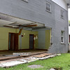 (Brad Davis/The Register-Herald) The Caldwell Pentecostal Holiness Church sits unusable after it sustained heavy damage in the flooding of June 23.