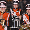 (Brad Davis/The Register-Herald) The Summers County marching band performs at halftime Friday night in Hinton.