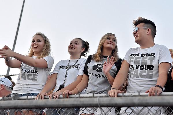 (Brad Davis/The Register-Herald) Westside students Friday night in Glen Daniel.