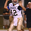 (Brad Davis/The Register-Herald) Shady Spring quarterback Joe Cantley Friday night in Hinton.