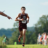 George Washington's Jacob Birurakis finished first in the boys cross country invitational at the Pinecrest Industrial Park in Beckley on Tuesday. (Chris Jackson/The Register-Herald)