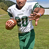 (Brad Davis/The Register-Herald) Wyoming East senior running back Uriah Adkins.