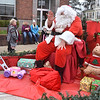 (Brad Davis/The Register-Herald) After making a stop in Beckley, Santa went to Fayetteville for their annual Christmas Parade Saturday evening.