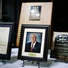 Awards to be presented to the Spirit of Beckley Honoree Dave Barksdale during the Spirit of Beckley Awards Monday at the Beckley-Raleigh County Convention Center. (Chris Jackson/The Register-Herald)