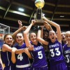 Eastern Greenbrier celebrates after defeated Beckley Stratton 42-40 in the championship game of the middle school division Wednesday afternoon during The Big Atlantic Classic held at the Beckley-Raleigh County Convention Center