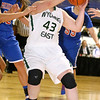Brad Davis/The Register-Herald<br /> Wyoming East's Allie Lusk tries to get to the basket Thursday night at the Beckley-Raleigh County Convention Center.
