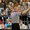 Woodrow Wilson students mimic the referees during the Flying Eagles class AAA championship win Saturday night at the Beckley-Raleigh County Convention Center.