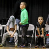 Three young Wyoming East fans react to a call during their<br /> Class AA Boys Championship against Robert C. Byrd at the Big Atlantic Classic Saturday in Beckley.