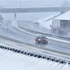 Brad Davis/The Register-Herald<br /> The view of Interstate 77 through Beckley just before 1:00 p.m. Saturday.