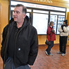 Brad Davis/The Register-Herald<br /> Trucker Kosta Ustazalkov discusses waiting out the winter weather Saturday afternoon at the Beckley Travel Plaza and truck stop. He and several other truckers are currently stuck at the plaza until the weather breaks.