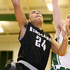 Brad Davis/The Register-Herald<br /> Westside's Tre Colucci drives and scores against Wyoming East Friday night in New Richmond.