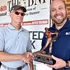 (Brad Davis/The Register-Herald) Super Senior winner Ed McCall at the BNI Monday afternoon.