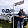 (Brad Davis/The Register-Herald) Returning champion Jay Matics at the Friends of Coal Auto Fair Friday afternoon at the Raleigh County Memorial Airport.