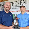 (Brad Davis/The Register-Herald) Runner up Landon Perry at the BNI Monday afternoon.