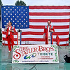 (Brad Davis/The Register-Herald) American Pride, a Statler Brothers tribute band, performs during the second of three fundraising concerts hosted by Theatre West Virginia Sunday evening at Grandview Park's Cliffside Amphitheater.
