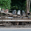 (Brad Davis/The Register-Herald) Aftermath of flash flooding near Hinton Friday afternoon.