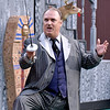 """(Brad Davis/The Register-Herald) Theatre West Virginia's """"The Addams Family Musical"""" Saturday night at Grandview Park's Cliffside Amphitheater."""