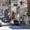 World's shortest St. Patrick's Day parade, staged on Washington Street in Lewisburg under the auspices of the Irish Pub.