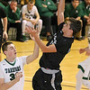 (Brad Davis/The Register-Herald) Westside's Puett Elijah drives to the basket during the Renegades' win over Wyoming East Saturday night at the Beckley-Raleigh County Convention Center.