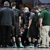 Wyoming East played Poca during the Class AA Semi-Finals of the West Virginia State Basketball Tournament at the Charleston Civic Center in Charleston, W.Va., on Friday, March 18, 2016. (Chris Jackson/The Register-Herald)