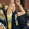 (Brad Davis/The Register-Herald) Blue Gold Select's Drew Hatfield shoots from three-point range against the Tazwell Bulldogs during Biddy Buddy action Saturday afternoon at Woodrow Wilson High School.