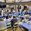 Hundreds turned out to chow down on soup and purchase handmade bowls during Beckley Quota Club's Empty Bowls fundraiser Saturday morning inside The Place at United Methodist Temple.