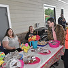 (Brad Davis/The Register-Herald) A group from Mountian State Centers for Independent Living consisting of (from left) Nora Nixon, Becky Cook, Tiffany Farley, Tonya Harold, Jordan Dunn (background right) and Jennifer Burrell enjoy the day at Sweat Treats May 14 in Beckley.