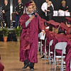 (Brad Davis/The Register-Herald) Woodrow Wilson graduate Joshua Flynn makes sure to get video of as many of his fellow classmates as possible after receiving his degree during the school's 90th Commencement Ceremony Saturday evening at the Beckley-Raleigh County Convention Center.