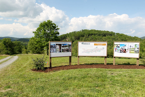 Construction underway on the Oakhurst Golf Course in White Sulphur Springs. (Chris Jackson/The Register-Herald)