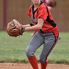 (Brad Davis/The Register-Herald) Oak Hill shortstop Savannah Byers fields a ground ball against Shady Spring March 4.