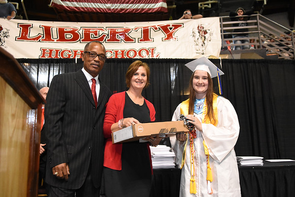 Liberty High School graduation held at the Beckley-Raleigh County Convention Center Saturday morning.