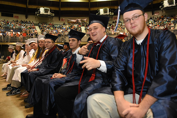 Independence High School graduation held at the Beckley-Raleigh County Convention Center Saturday morning.