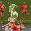 "(Brad Davis/The Register-Herald) Beckley Dance Theatre School's production, ""God Bless America,"" Wednesday night at the Woodrow Wilson High School Auditorium."