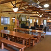 (Brad Davis/The Register-Herald) The new mess hall at the historic Camp Brookside near Hinton.