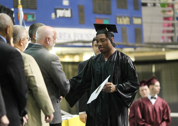 ACT held its annual commencement Thursday, May 18, 2016, at The Beckley Raleigh County Convention Center in Beckley.(Chris Jackson/The Register-Herald)
