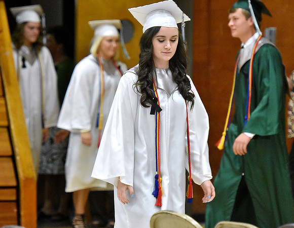 (Brad Davis/The Register-Herald) Fayetteville High School 2016 Commencement.