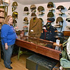(Brad Davis/The Register-Herald) Curator Cindy Parker describes some of the items and artifacts inside the Raleigh County Veterans Museum Sunday afternoon on Harper Road.