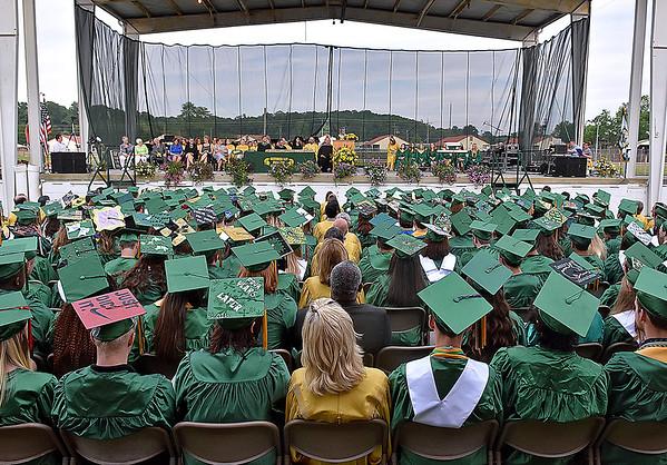 (Brad Davis/The Register-Herald) Greenbrier East 2016 Commencement.