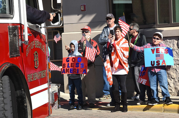 Beckley Veterans Day Parade on Neville Street Friday morning.<br /> (Rick Barbero/