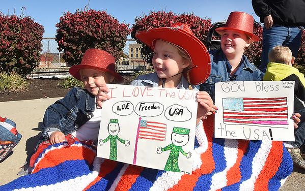 Beckley Veterans Day Parade on Neville Street Friday morning.<br /> (Rick Barbero/