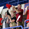 (Brad Davis/The Register-Herald) PikeView fans and family during the Panthers' opening round win in the class AA State Volleyball Tournament Friday morning at the Charleston Civic Center.