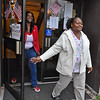 (Brad Davis/The Register-Herald) Raleigh County voters Letina Carter, right, and her daughter Detria Carter exit their precinct at Stratton Elementary Tuesday afternoon in Beckley.