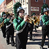 Park Middle School marching band coming up Neville Street during the Beckley Veterans Day Parade Friday morning.<br /> (Rick Barbero/
