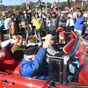Veterans waving to the crowd during the Beckley Veterans Day Parade Friday morning.<br /> (Rick Barbero/