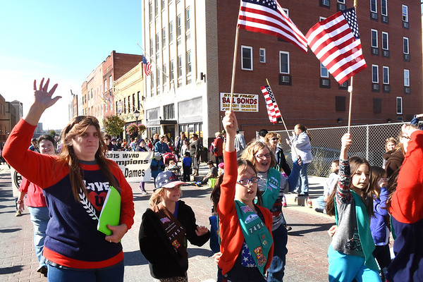 Beckley Veterans Day Parade comming up Neville Street Friday morning.<br /> (Rick Barbero/