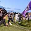 (Brad Davis/The Register-Herald) James Monroe takes the field Friday in Lindside.