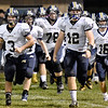 (Brad Davis/The Register-Herald) Nicholas County takes the field Friday in Lindside.