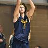 (Brad Davis/The Register-Herald) WVU's Nathan Adrian during the Mountaineers' practice Friday night at Beckley-Raleigh County Convention Center.