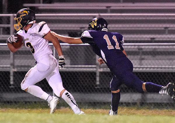 (Brad Davis/The Register-Herald) Greenbrier West v Buffalo Friday night in Charmco.