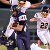 (Brad Davis/The Register-Herald) Greenbrier West running back Colton Kessler carries the ball Friday night in Charmco.